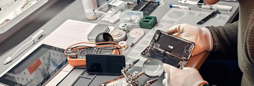 Réparation de téléphone