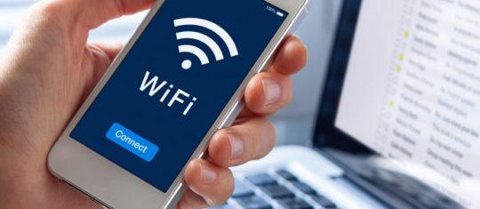 Une connexion wifi