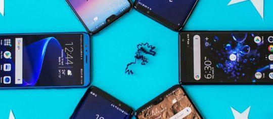 plusieurs smartphones